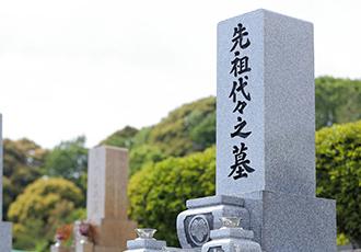 和洋型墓石イメージ